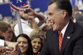 Will Romney receive a bump in the polls?