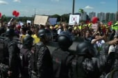 New wave of protests hit Brazil