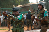 Violence escalating in central Africa