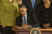 Pres. Obama signs Farm Bill