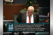 Embattled Toronto mayor not backing down