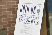 Saturday focuses on small business