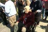 WWII vets travel to memorial on shutdown day
