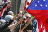 Report: Far-right extremist groups plummet