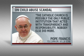 Pope Francis' bold remarks on sex abuse