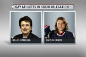 Gay US athletes part of Olympic delegation
