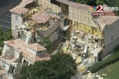 100 foot sinkhole swallows part of resort