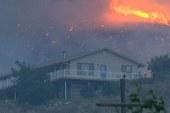 Firefighters battle enormous blaze in WA