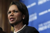 Should Rice be allowed to speak at Rutgers?