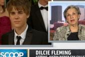 Grandma upset at Bieber phone prank