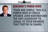Boehner yanks four GOP committee seats