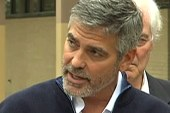Clooney: 'There are people dying every day'