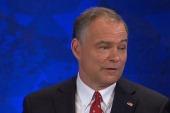 Virginia Senate candidate face off in debate
