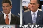 Tough week for Perry and Romney