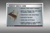 A new dress code for parents?