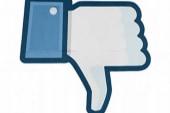 Facebook share price shrinks