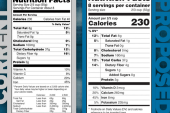 Food labels may soon see big overhaul