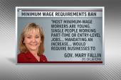 Republican governor blocks wage raises