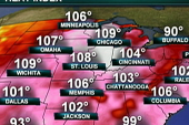 Heat wave expected to intensify across US