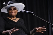 Poet discusses Maya Angelou's impact