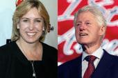 Clinton makes endorsement in Los Angeles...
