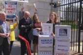 Lawmakers, lobbyists gather to protest...