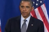 Obama contrasts his economic plan with...