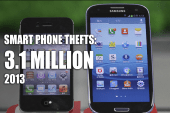 Cell phone thefts are growing