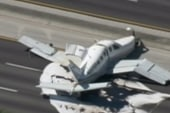 Plane crashes on Fla. turnpike