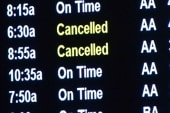 Flight delays create outrage at airports