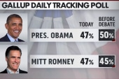Obama hits bump in campaign as Romney sees...