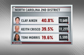 Republican primary win in North Carolina