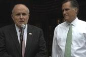 Romney, Giuliani mark death of bin Laden...