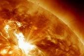Radiation from solar storm pelts Earth