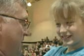 Military parents surprise kids from overseas