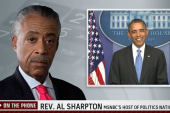 Rev. Sharpton: President made historic...