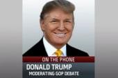 Trump to moderate GOP debate in Iowa