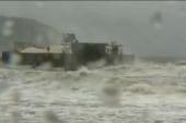 Super typhoon damages coastal areas