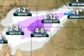 Snowstorm threatens Southwest, Great Plains