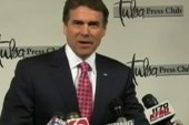 Are Texans turning their backs on Rick Perry?