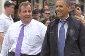 Obama, Christie reunite, return to Jersey...