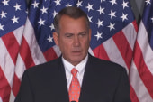 Conservative groups want Boehner replaced