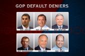 GOP members play down debt default