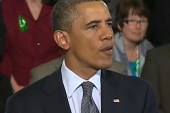 Obama to Newtown families: 'We're here...