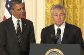 Hagel nomination stirs ire from the right