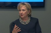 Hillary Clinton's change of position on Iraq