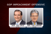 Are some in the GOP on the impeachment...