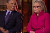 The Obama-Clinton interview and what it...