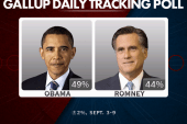 New poll shows bounce for Obama after DNC