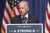 Biden plays offense in campaign's attack...
